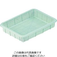 アズワン プラ角型バスケット 浅型 中 1個 7-5649-02 (直送品)