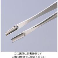アズワン エレクトリックピンセット 577 凹 特殊鋼 1本 7-601-04 (直送品)