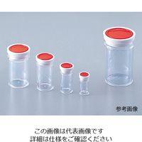 アズワン ラボランスチロール棒瓶 120mL 50+5本入 S-120 1箱(55本) 9-850-08 (直送品)
