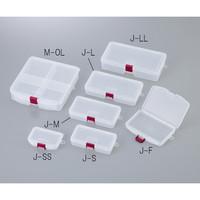 明邦化学工業 サンプルケース 146×103×23mm J-F 1個 1-3977-07 (直送品)
