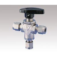 フジキン(Fujikin) ボールバルブ PUBVT-95-3 1個 1-2036-01 (直送品)