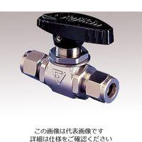 フジキン(Fujikin) ボールバルブ PUBV-95-6 1個 1-1765-02 (直送品)