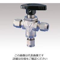 フジキン(Fujikin) ボールバルブ PUBVT-95-6.35 1個 1-2036-04 (直送品)
