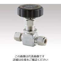 フジキン(Fujikin) ニードルストップバルブ PUH-916-6.35-SH 1個 1-1764-04 (直送品)