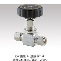 フジキン(Fujikin) ニードルストップバルブ PUH-916-3SH 1個 1-1764-01 (直送品)