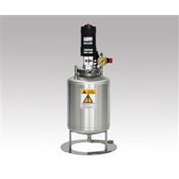 ユニコントロールズ 電動攪拌機付きステンレス加圧タンク TMC10-KX125A 1個 1-1914-01 (直送品)