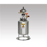 ユニコントロールズ エアー攪拌機付きステンレス加圧タンク TMC10-KY110A 1個 1-1915-01 (直送品)