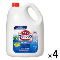 トイレマジックリン消臭・洗浄スプレー 業務用4.5L 1箱(4個入) ミントの香り