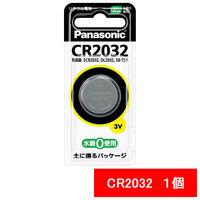 パナソニック リチウムコイン電池 3V CR2032P 1箱(5個入)