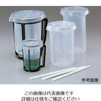 アズワン ディスポ手付ビーカー1L 120入 1箱(120個) 6-6607-01 (直送品)