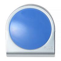 プラス カラーマグネットクリップ(大)ブルー 80561 1個