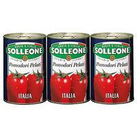 ソル・レオーネ ホールトマト 3缶