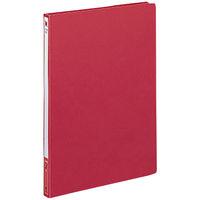 レターファイル色厚板紙 A4タテ 赤