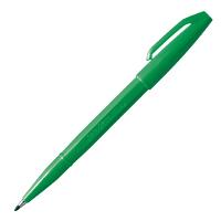 ぺんてる 水性サインペン 緑
