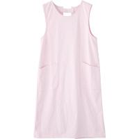 フランシュリッペ エプロン(ロング丈) ピンク MS-21071 医療白衣 エプロン 予防衣 1枚 (取寄品)