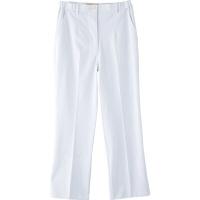 フランシュリッペ シャーリングパンツ(レギュラー) ホワイト M MS-21051 医療白衣 ナースパンツ 1枚 (取寄品)