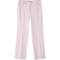 フランシュリッペ シャーリングパンツ(スリム) ピンク LL MS-21052 医療白衣 ナースパンツ 1枚 (取寄品)