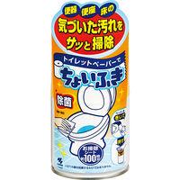 トイレットペーパーでちょいふき 120ml 小林製薬(トイレお掃除シート約100枚分)×5個