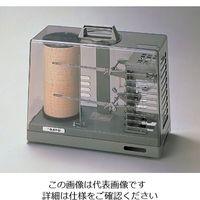 佐藤計量器製作所 温湿度記録計 7215-00(手巻式) 1台 1-1014-02 (直送品)
