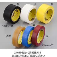 スリーエム ジャパン(3M) 483ラボ・シーリングテープ 25.4mm×32.9m 黄 1巻 6-696-07 (直送品)
