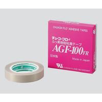 中興化成工業 チューコーフロー(R)フロログラス粘着テープ AGF-100FR 0.13×19mm×10m 1巻(10m) 7-320-01 (直送品)