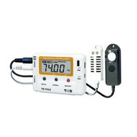 アズワン 照度紫外線温湿度データロガTRー74Ui 1ー1879ー01 1台 1ー1879ー01 (直送品)