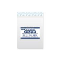 HEIKO クリスタルパック T17.5-21 横175×縦210+フタ40mm 6741710 OPP袋 透明封筒 1袋(100枚入) シモジマ