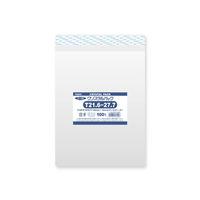 HEIKO クリスタルパック T21.6-27.7 横216×縦277+フタ40mm 6740920 OPP袋 透明封筒 1袋(100枚入) シモジマ