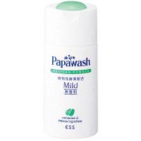 Papawash パパウォッシュ・マイルド 洗顔料(パウダー) 70g 無香料 ESS