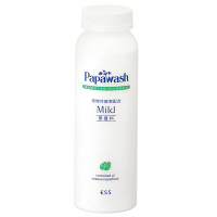 Papawash パパウォッシュ・マイルド 洗顔料(パウダー) 詰め替え 140g 無香料 ESS
