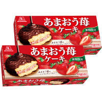 森永製菓 あまおう苺ケーキ 1セット(2箱入)