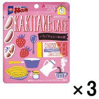 亀田の柿の種 いちごチョコ 3袋