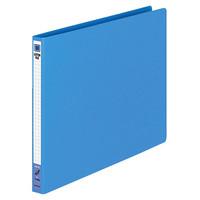 コクヨ レターファイル(色厚板紙) A4ヨコ ブルー フ-555B