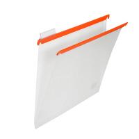 プラス PP ハンガーフォルダー A4 オレンジ 34004 1袋(10枚入)