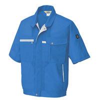 アイトス 半袖ブルゾン ロイヤルブルー AZ5361-006-L 1着