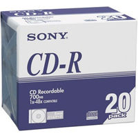 CD-R ノンプリンタブル スリムケース