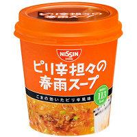 日清ピリ辛担々の春雨スープ