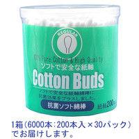 サンリツ 抗菌ソフト綿棒 レギュラー 4935089100852 1箱(6000本)