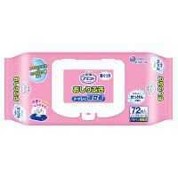 大王製紙 アテント流せるおしりふきやさしいせっけんの香り 733360 1箱(72枚×12パック) (取寄品)
