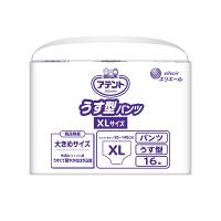 大王製紙 アテントうす型パンツXLサイズ 763724 1箱(16枚×4パック) (取寄品)