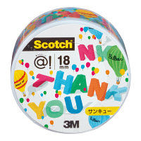 スコッチ(R) あっとテープ18mm×6m サンキュー ATM18-14 スリーエムジャパン