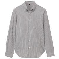 無印 コットンボタンダウンシャツ 紳士