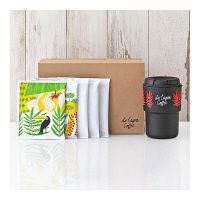 ダラゴア農園ブレンド ドリップコーヒー ギフトセット1 箱(ダラゴア×2袋+ショコラ×3袋+デミタマグ×1個)