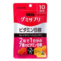 UHAグミサプリ ビタミンB群 10日分 UHA味覚糖 サプリメント