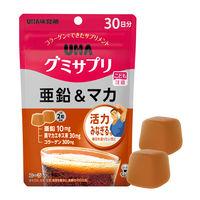 UHAグミサプリ 亜鉛&マカ 30日分 UHA味覚糖 サプリメント