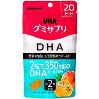 UHAグミサプリ DHA 20日分 UHA味覚糖 サプリメント