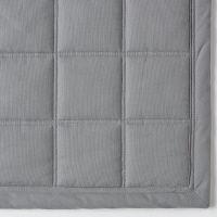 綿ななこ織キルティングラグ195×195