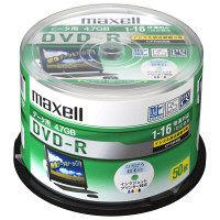 日立マクセル データ用DVDR CPRM 50枚スピンドル ひろびろ美白レーベル DRD47WPD.50SP 1パック(50枚入)