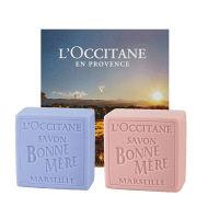 L'OCCITANE(ロクシタン) ボンメールソープ 2個セット(ローズ/ラベンダー)