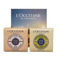 L'OCCITANE(ロクシタン) シアソープ 2個セット(ミルク/ヴァーベナ)